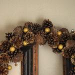 DIY & Easy 松ぼっくりのクリスマスリース